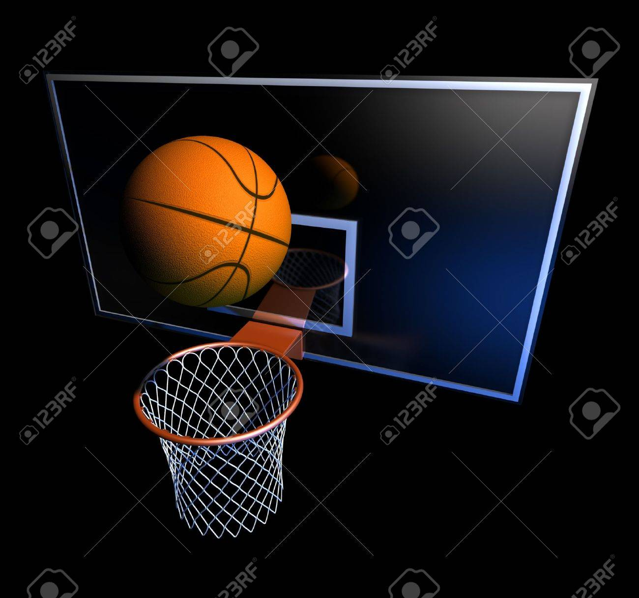 Basketball Ball Stock Illustration