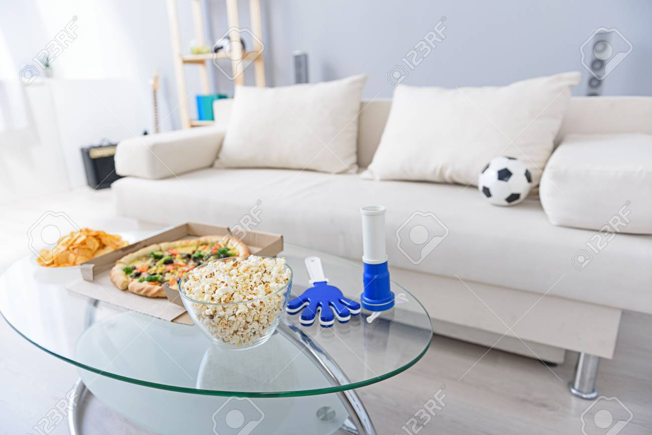 Couchtisch Pop Stock Photo