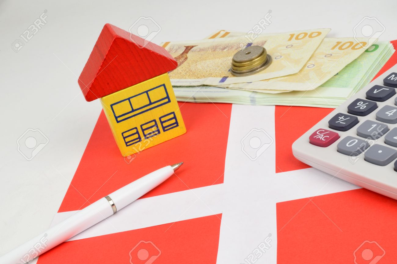 Immobilien Finazierung Stock Photo