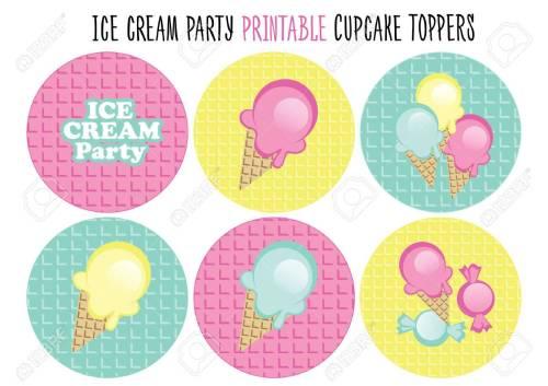 Medium Of Ice Cream Party