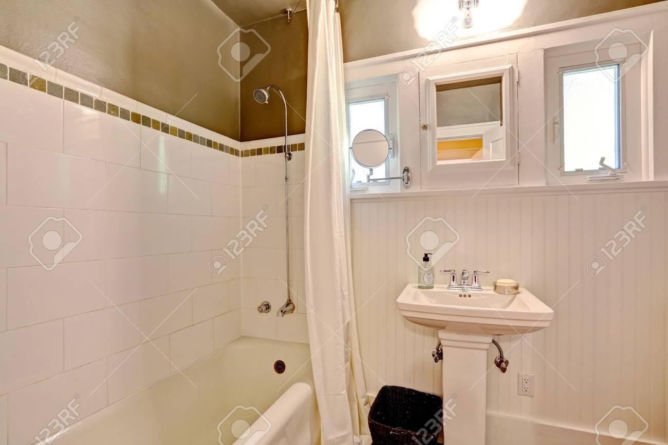 Piastrelle bagno beige e marrone supergres mattonelle per