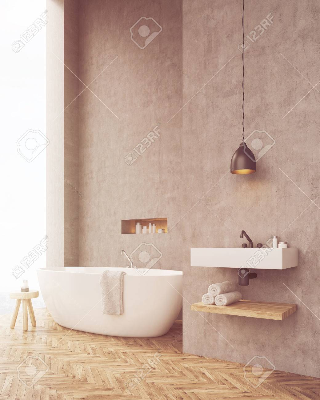 Badezimmer Handtücher Stock Photo