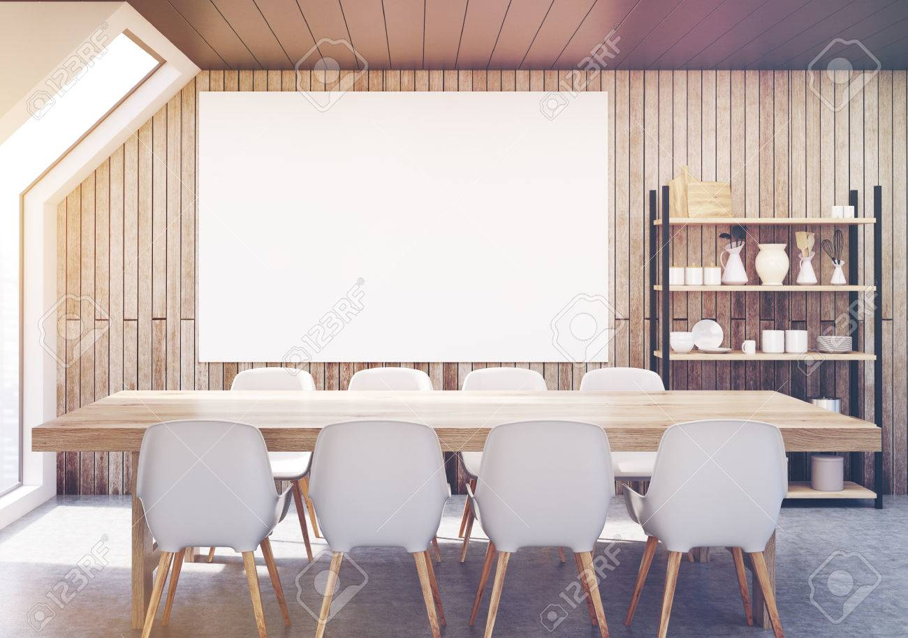 Schrank Esszimmer Stock Photo