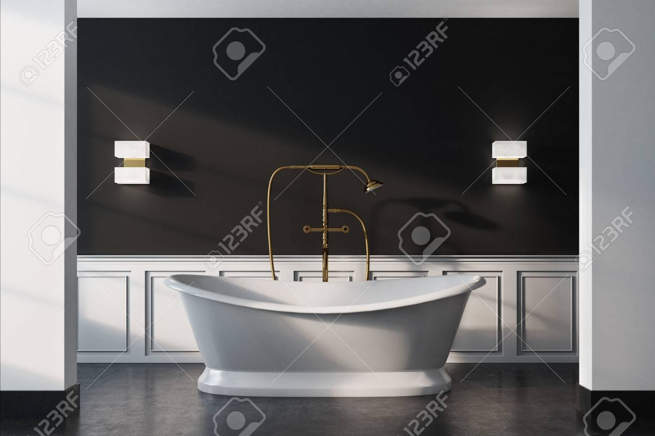 Vintage Badezimmer Stock Photo