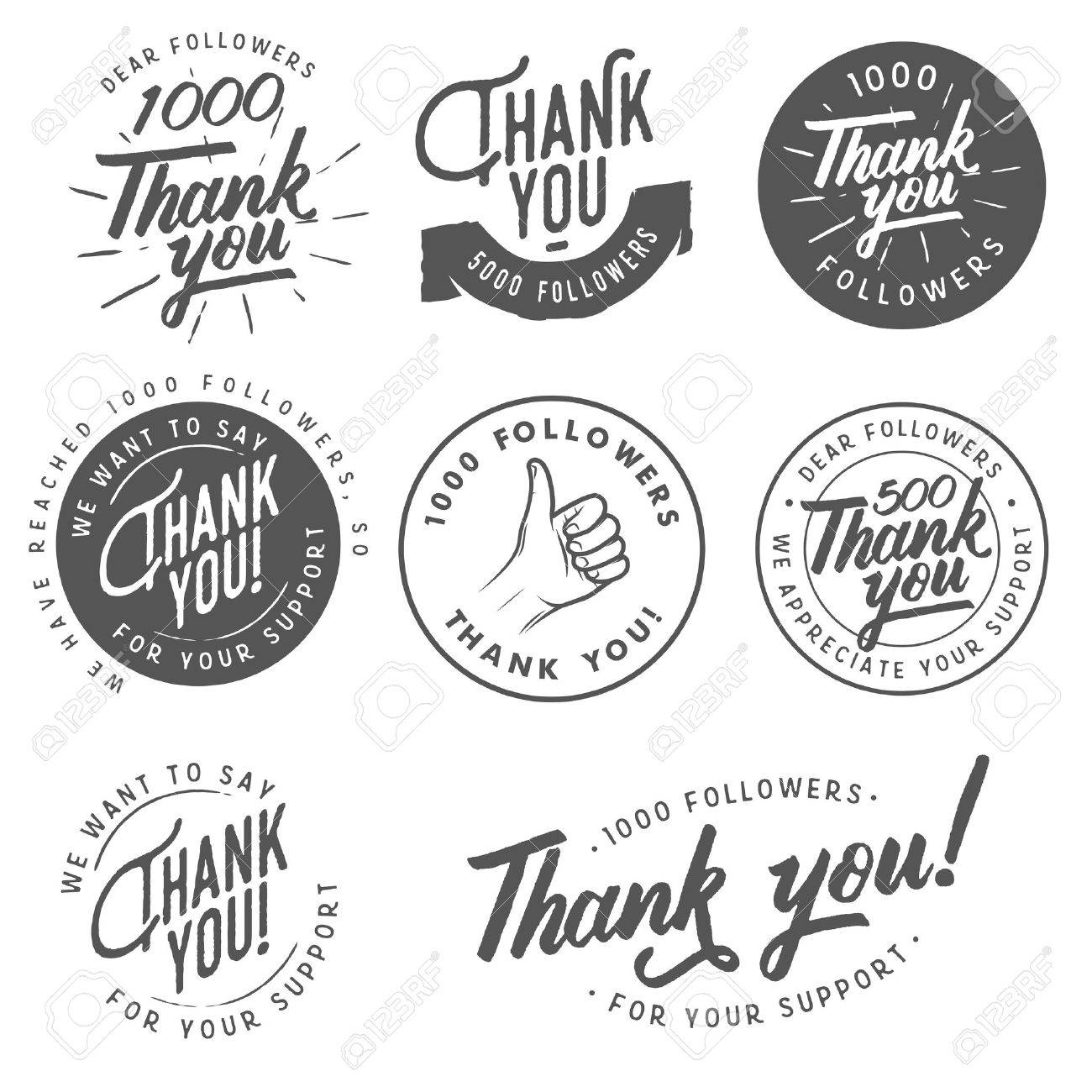 Fullsize Of Thank You Stickers