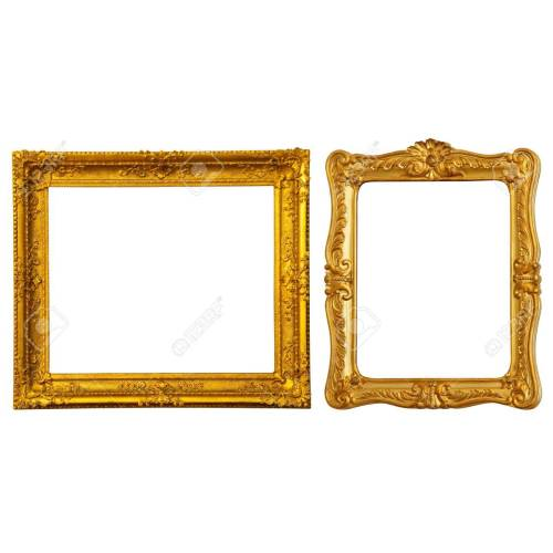Medium Crop Of Gold Picture Frames
