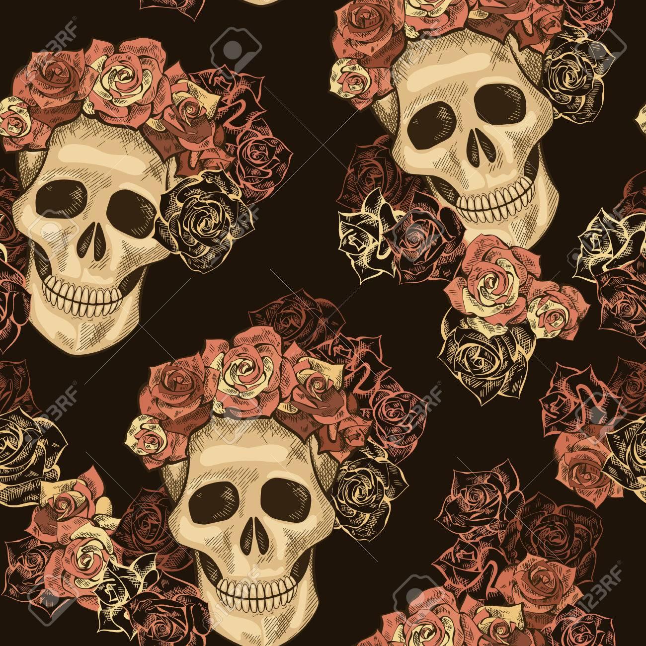 Fullsize Of Dia De Los Muertos Wallpaper