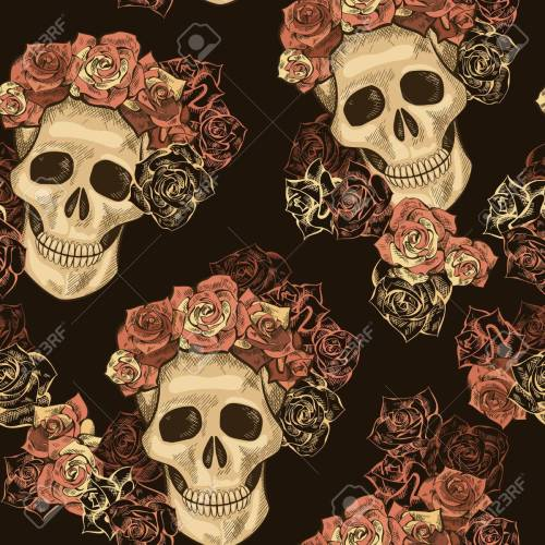 Medium Of Dia De Los Muertos Wallpaper
