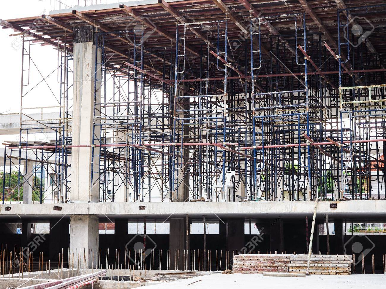 General Building Structure During Construction Stock Photo Picture And Royalty Free Image Image 84574273