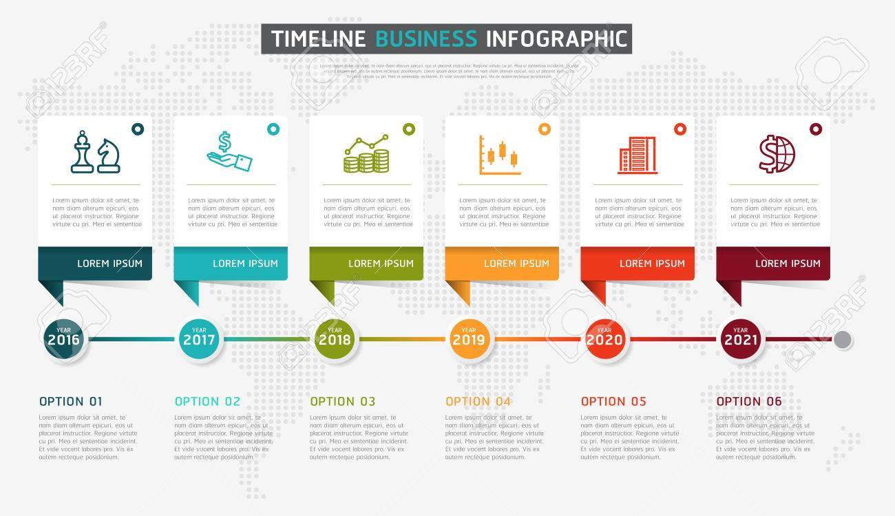 Timeline Design Timeline Infographic Design Vector And Marketing Icons Can Be