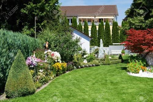 Medium Of Cottage Landscaping Designs
