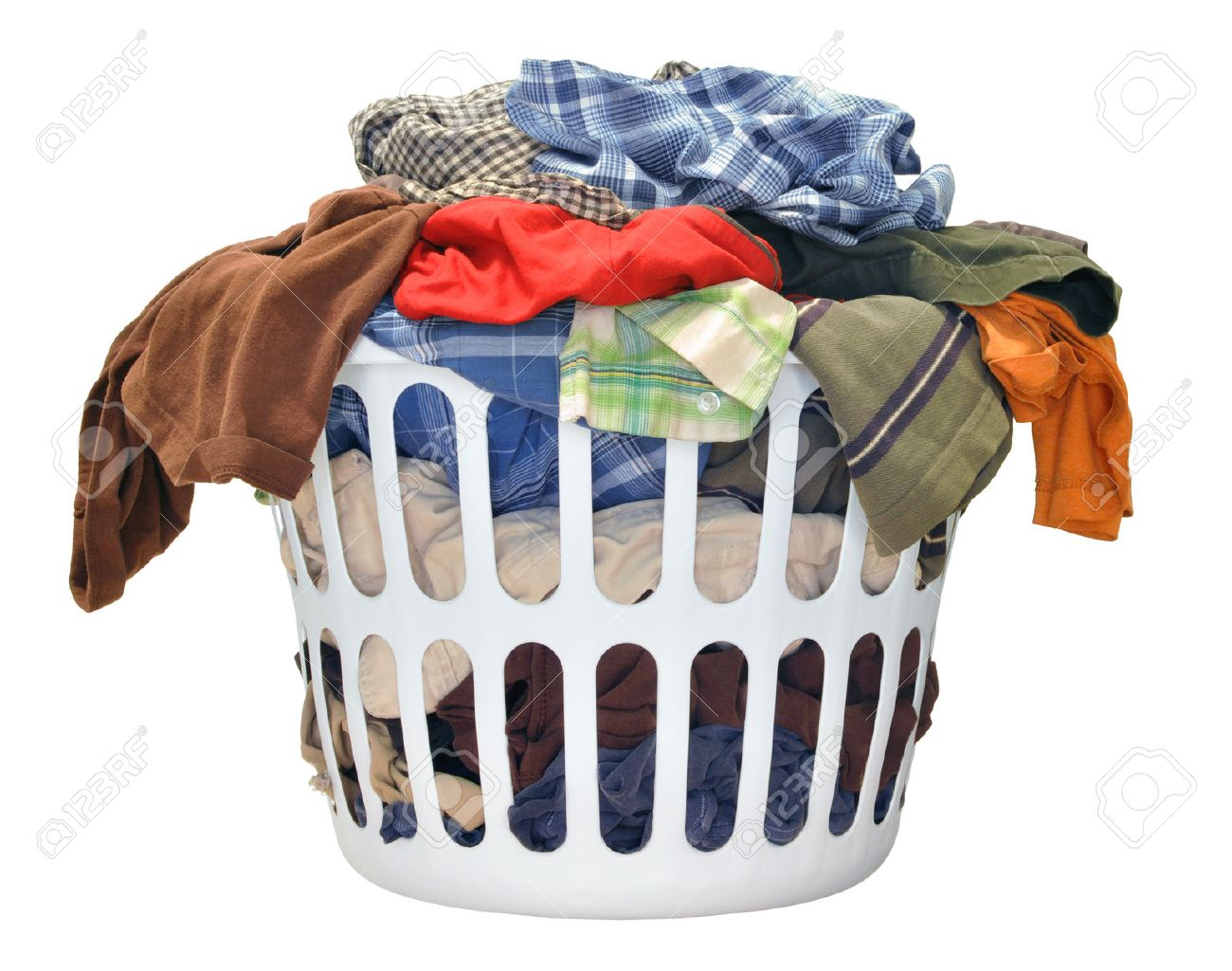 Dirty Laundry Baskets Laundry Basket Stock Photos And Images 123rf
