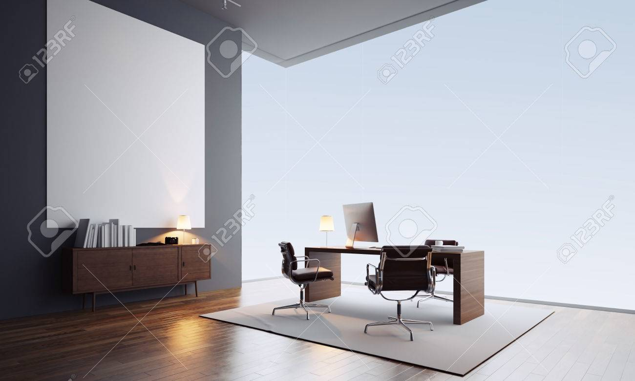 Loft Interieur Design Contemporary Office Interior Workspace In Loft With Generic