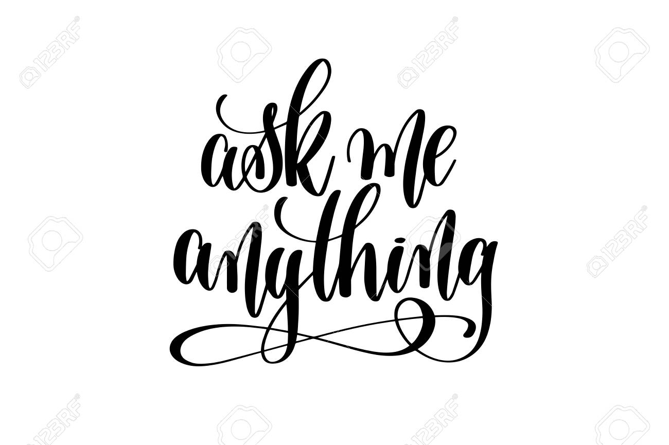 Calligraphy Online Ask Me Anything Hand Lettering For Your Blog Online Shop Tag