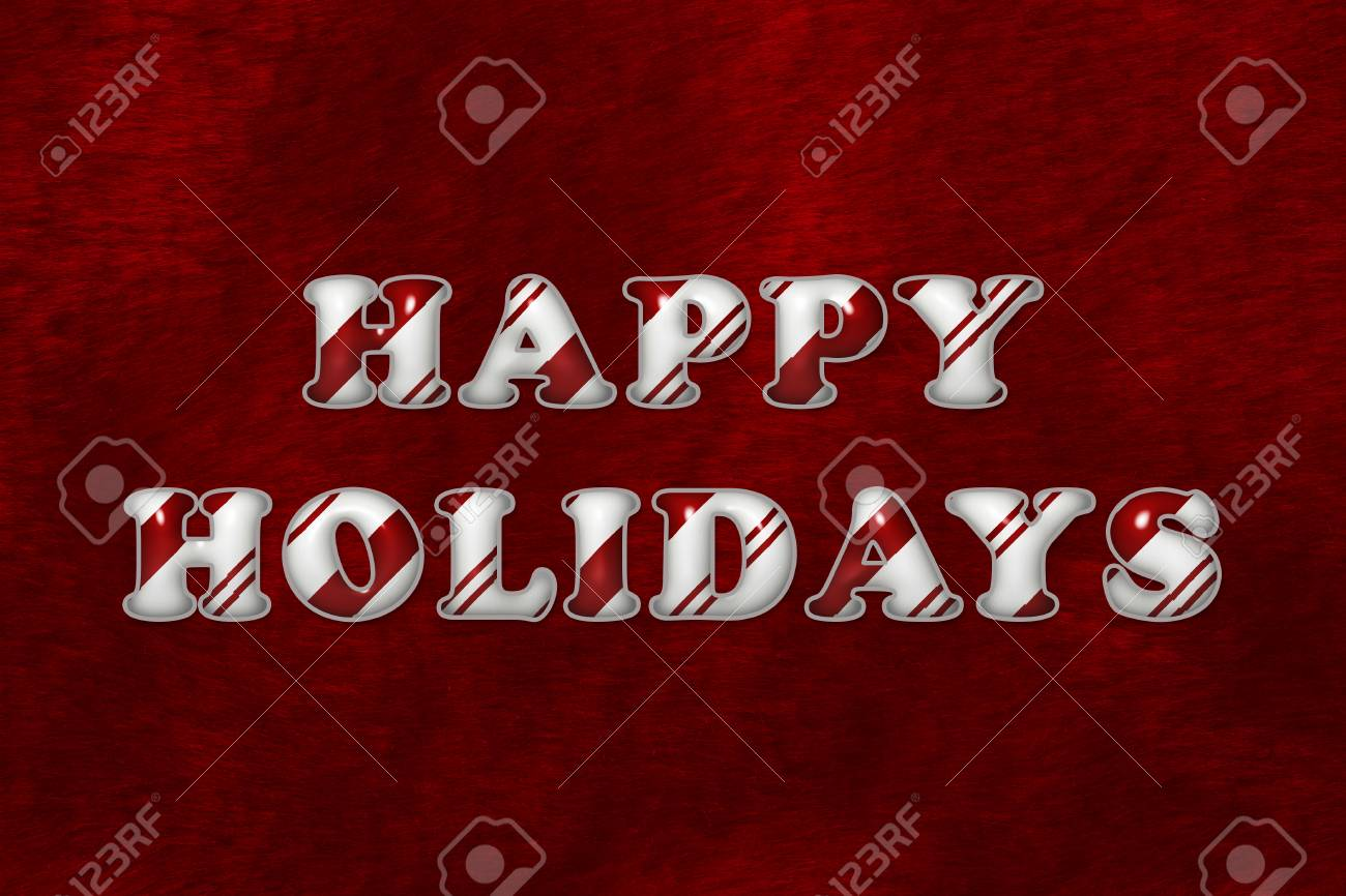 Fullsize Of Happy Holidays Message