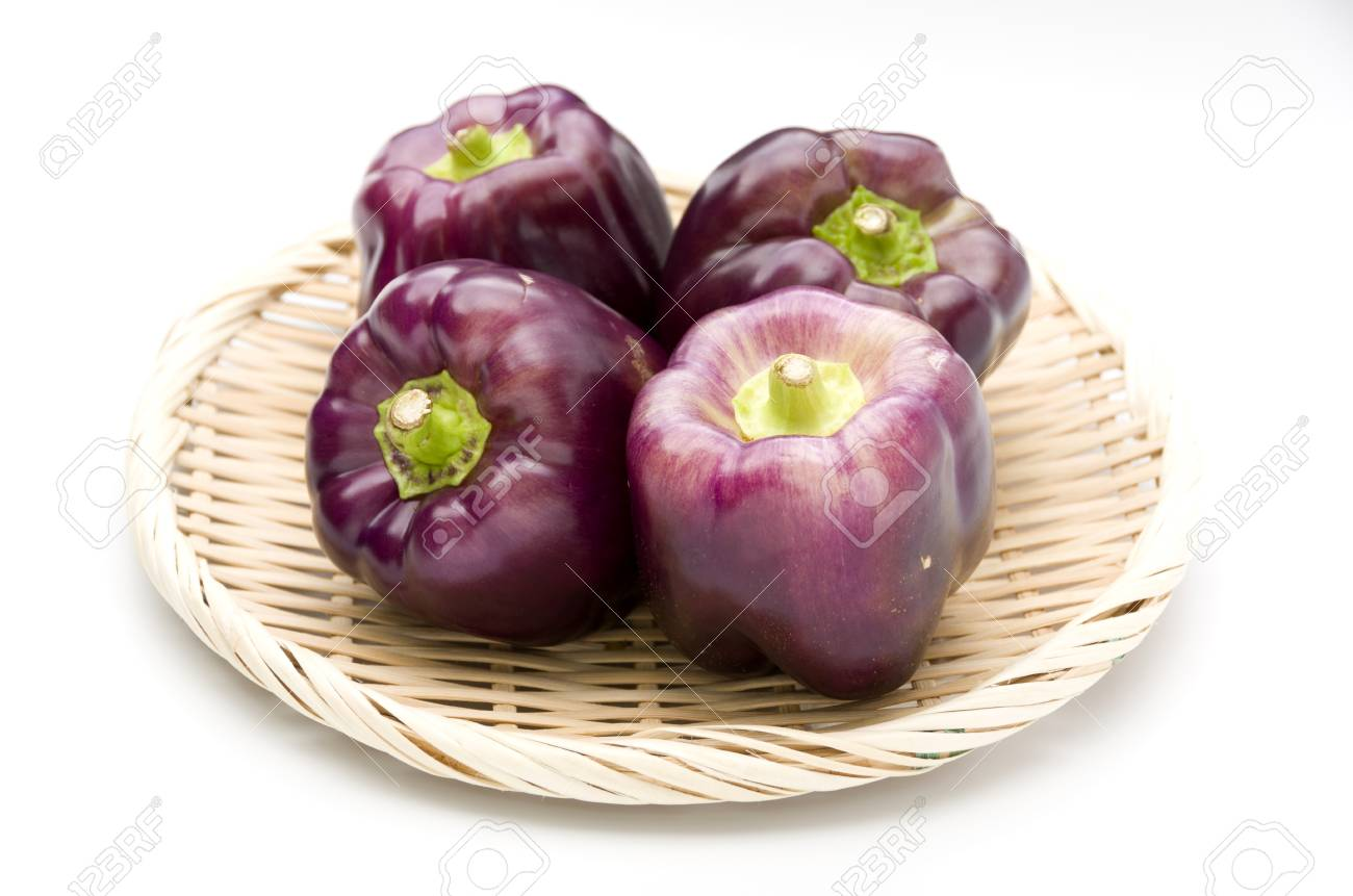 Fullsize Of Purple Bell Pepper