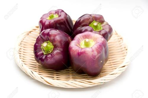 Medium Of Purple Bell Pepper