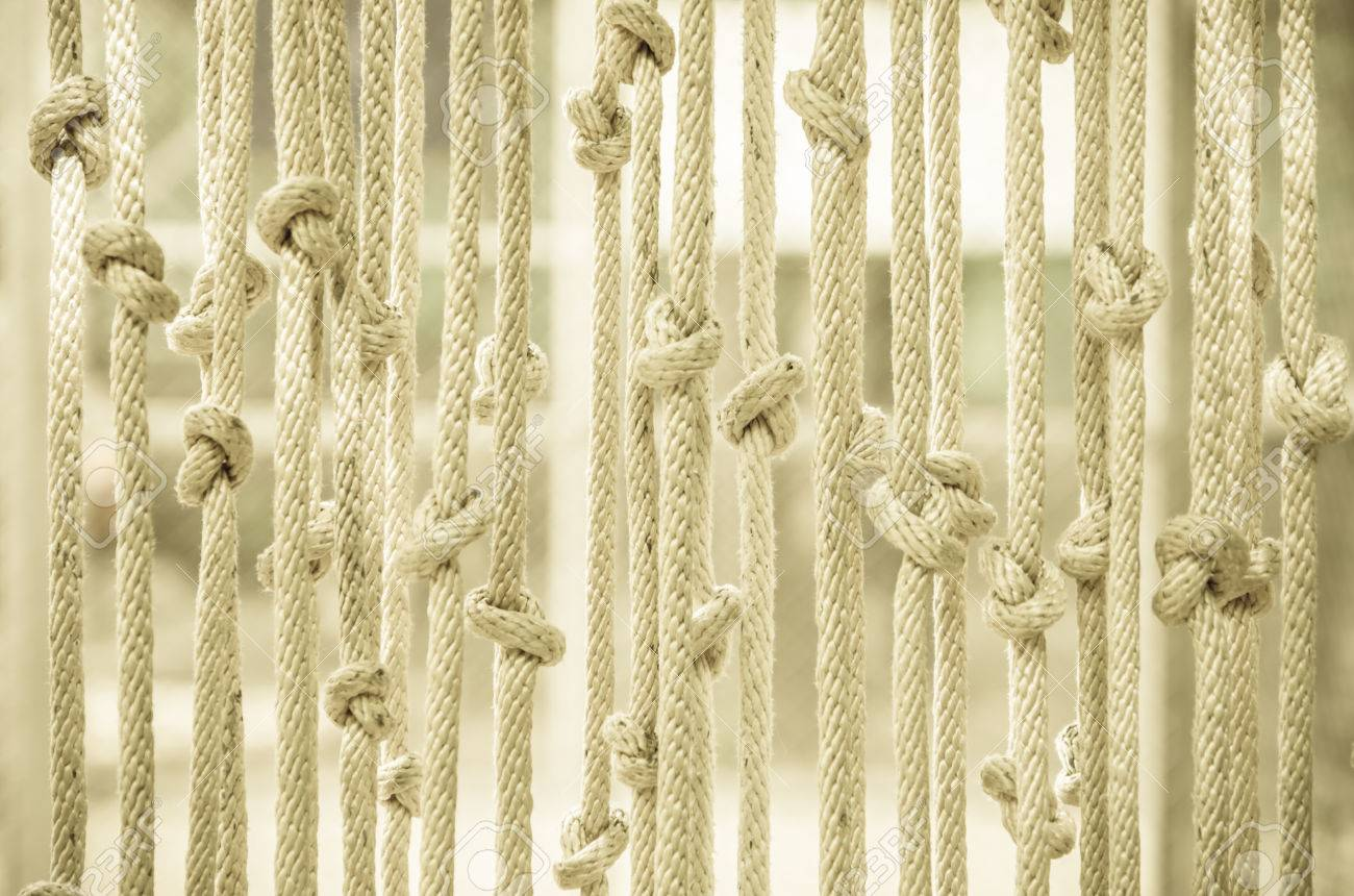 Rope Curtain Blinds Made Of Rope Curtains