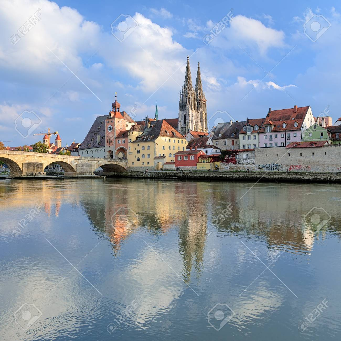 Regensburg Bilder Stock Photo