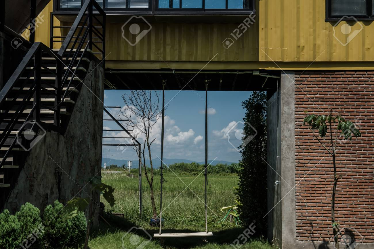 Container Haus Thailand Container House With Swing In Thai Country Thailand