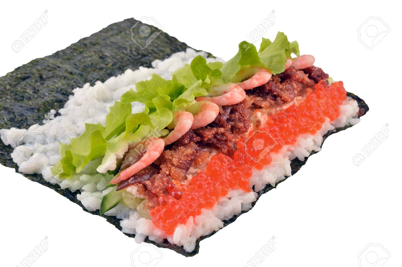 Stage Cuisine Sushi Is In The Cooking Stage Culture Of Japan Japanese Cuisine