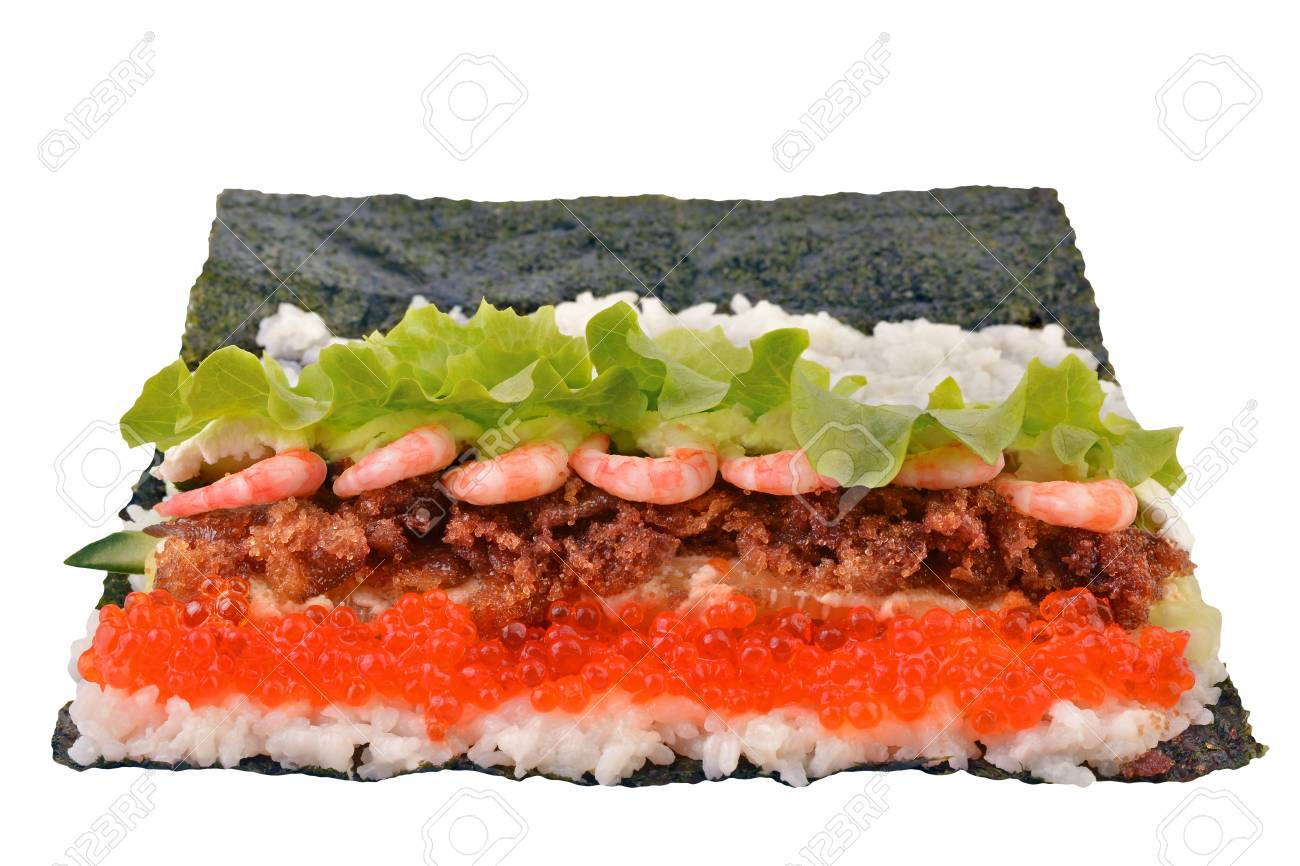 Stage Cuisine Sushi Is In The Cooking Stage Japanese Cuisine Food Culture