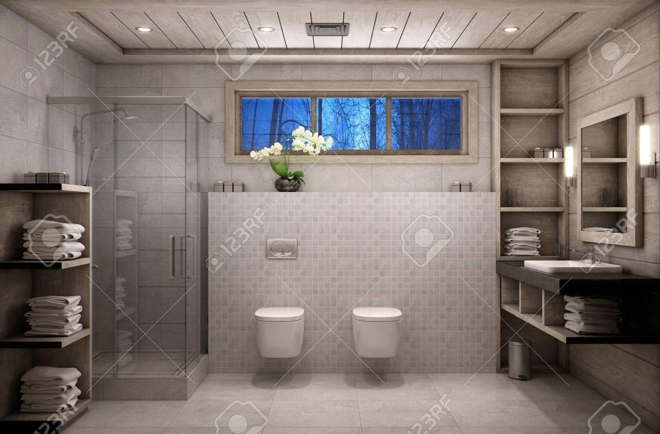 Badezimmer Chalet Stil Badezimmer Im Chaletstil Traditional Bathrooms