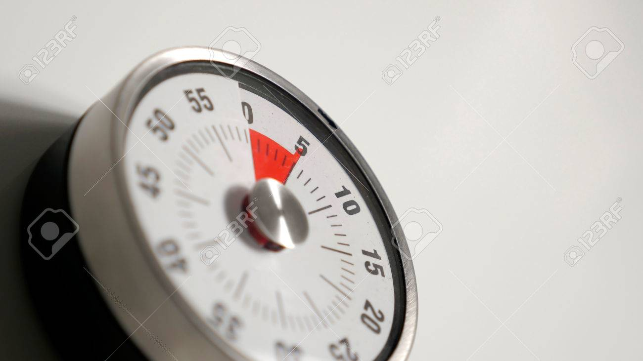 Uhr Küche Stock Photo