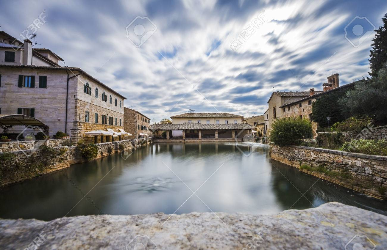 Bagno Vignoni Free Thermal Baths Ancient Thermal Baths In The Medieval Village Of Bagno Vignoni