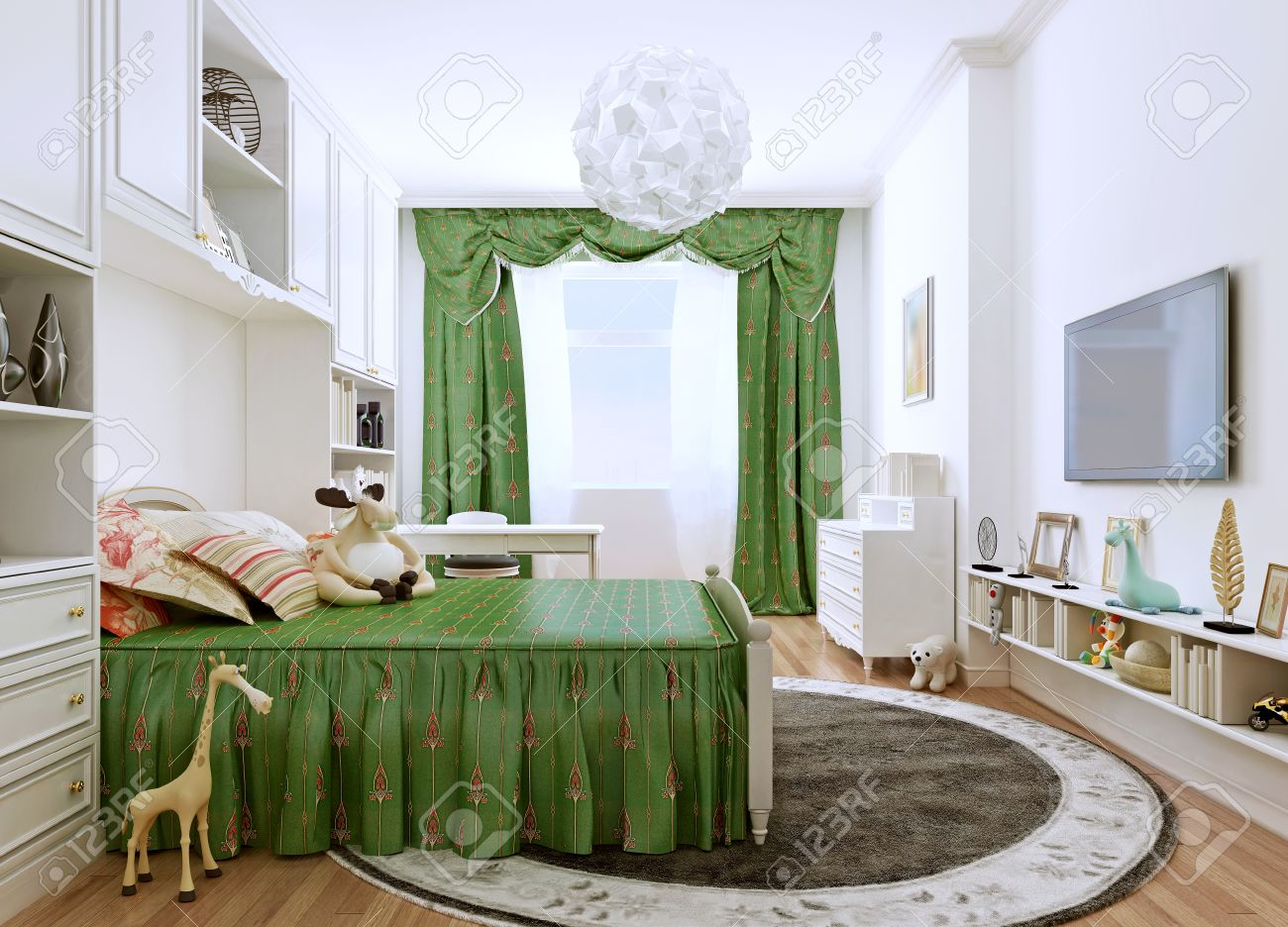 Jugendzimmer Farben Stock Photo