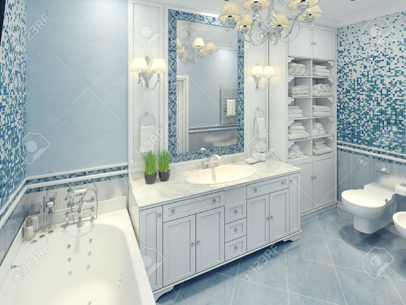 Badkamerverlichting art deco art deco badkamer luxe decoration