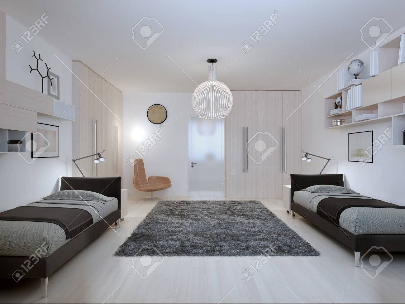Schlafzimmer Teenager - Stock Photo