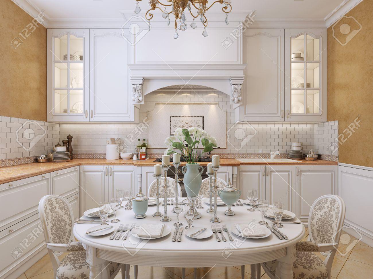 Mobili Soggiorno Barocco Moderno | Cucina Barocco Moderno