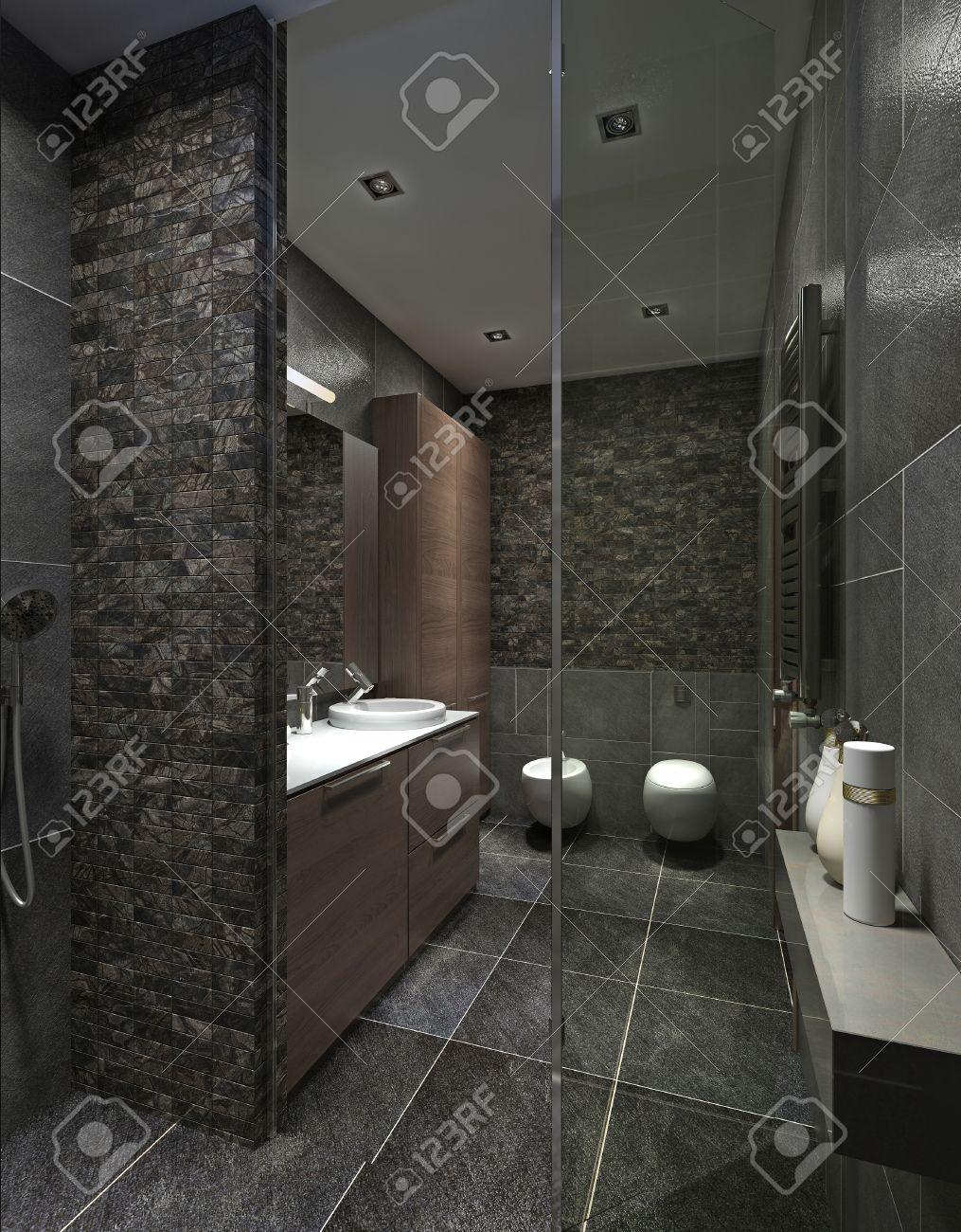 Carrelage Douche Moderne | Carrelage Salle De Bain Moderne Plus ...