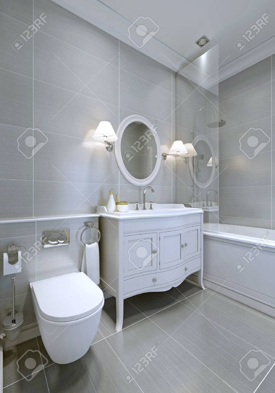 Badezimmer Farbe Bilder Stock Photo
