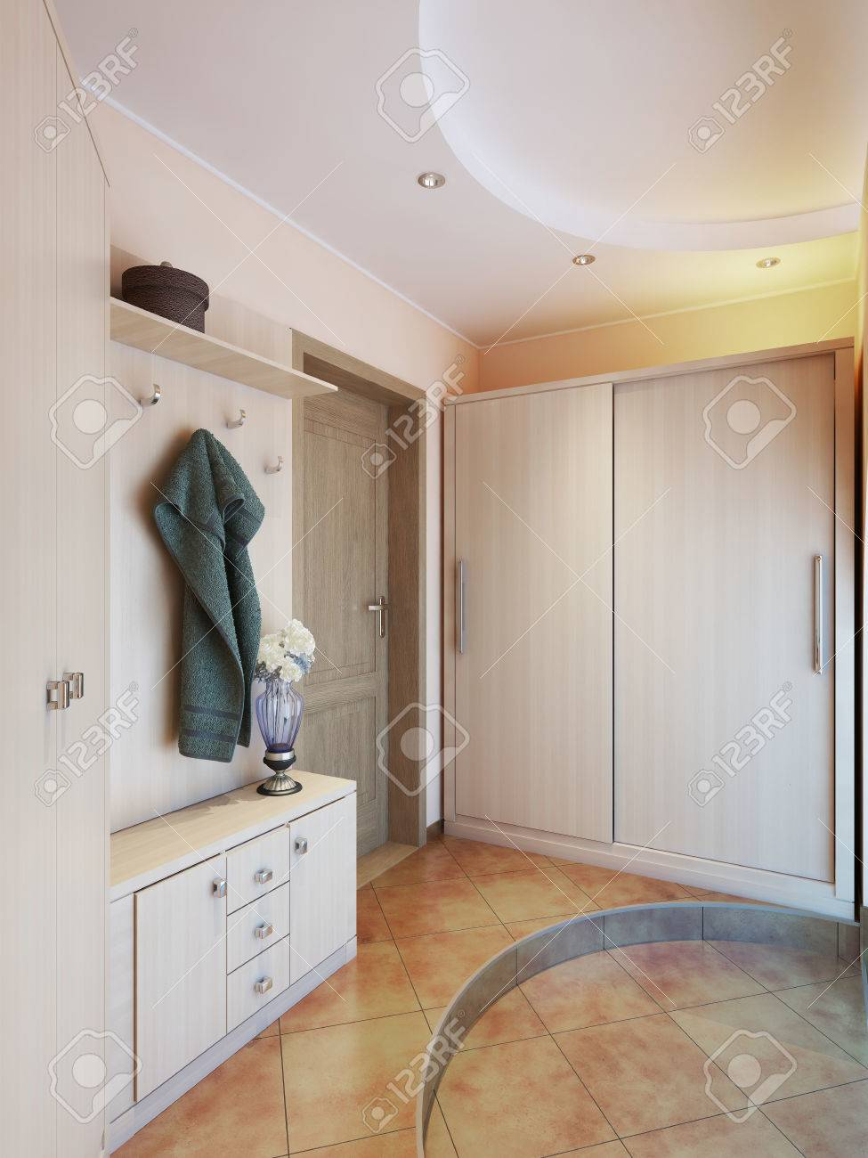 Schrank Flur Stock Photo