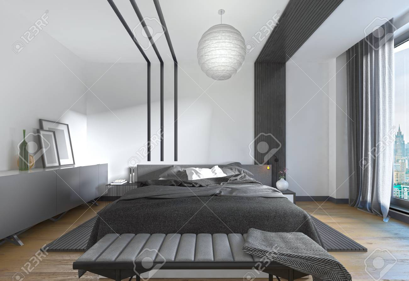 Schlafzimmer Modern Style Modern Bed In The Bedroom The Contemporary Style Bedroom Black