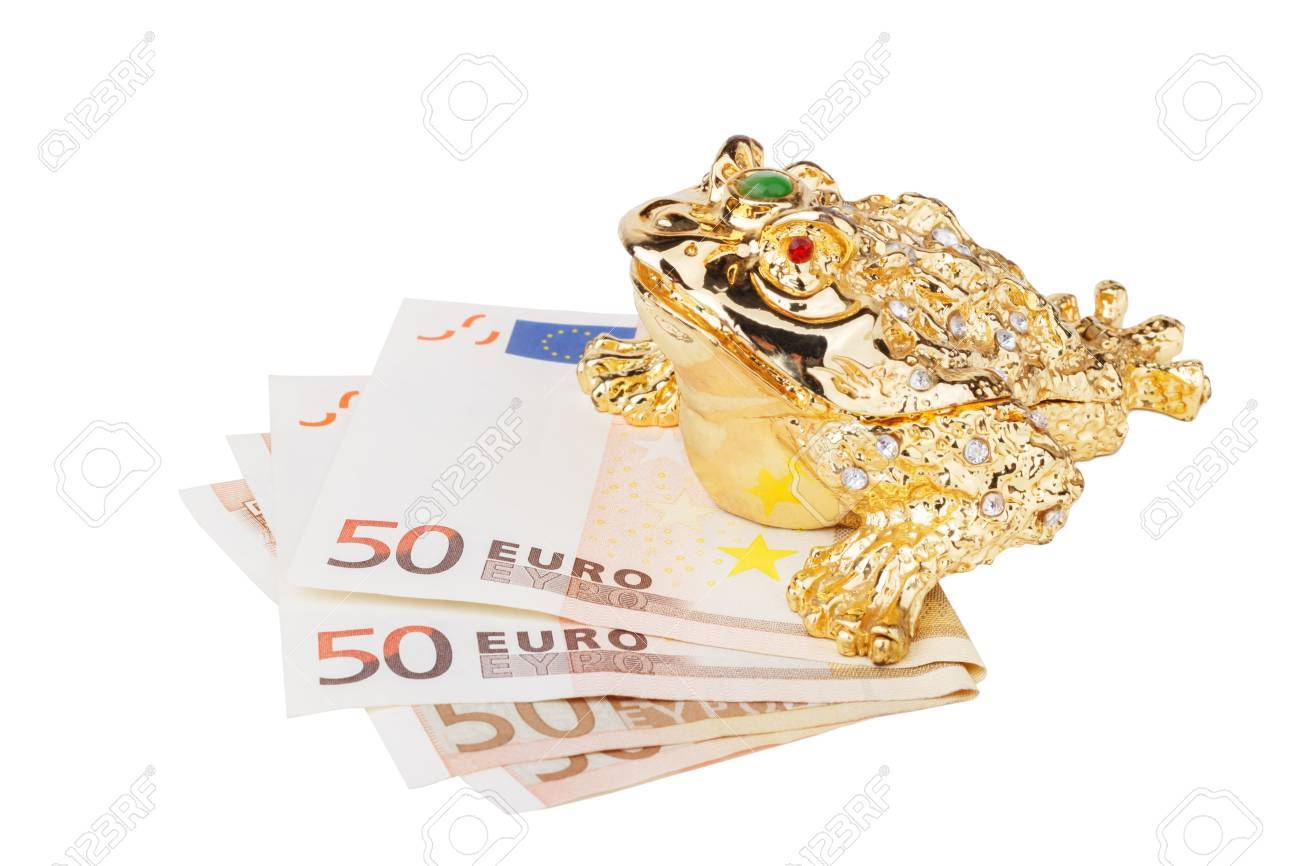 Feng Shui Geld Stock Photo
