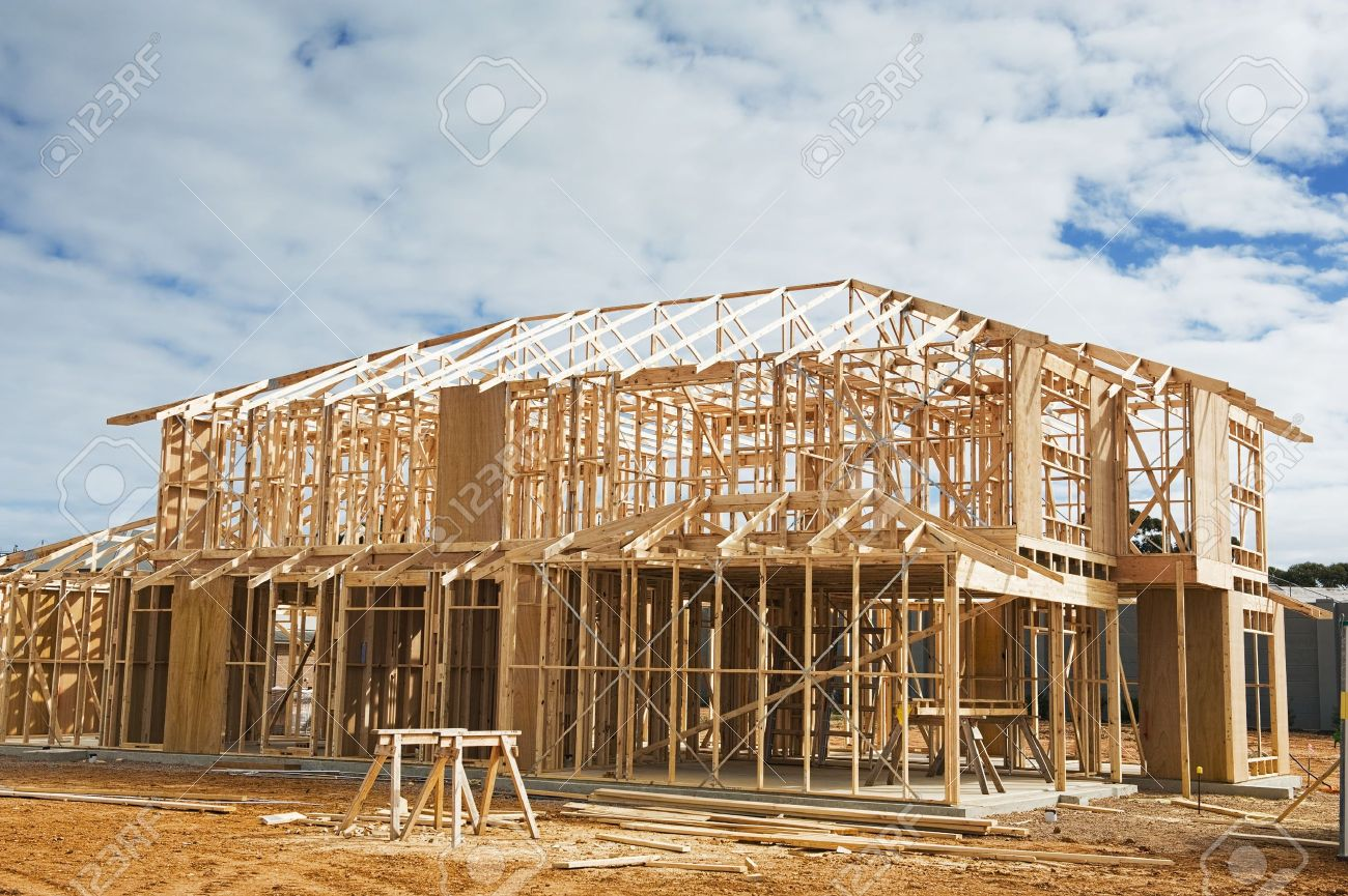 To Residential Construction New Residential Construction Home Framing Construction Site