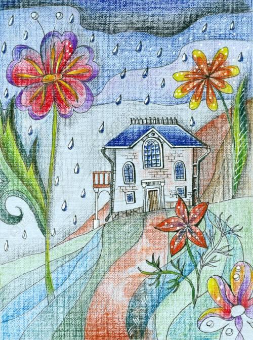 Medium Of Cozy Little House