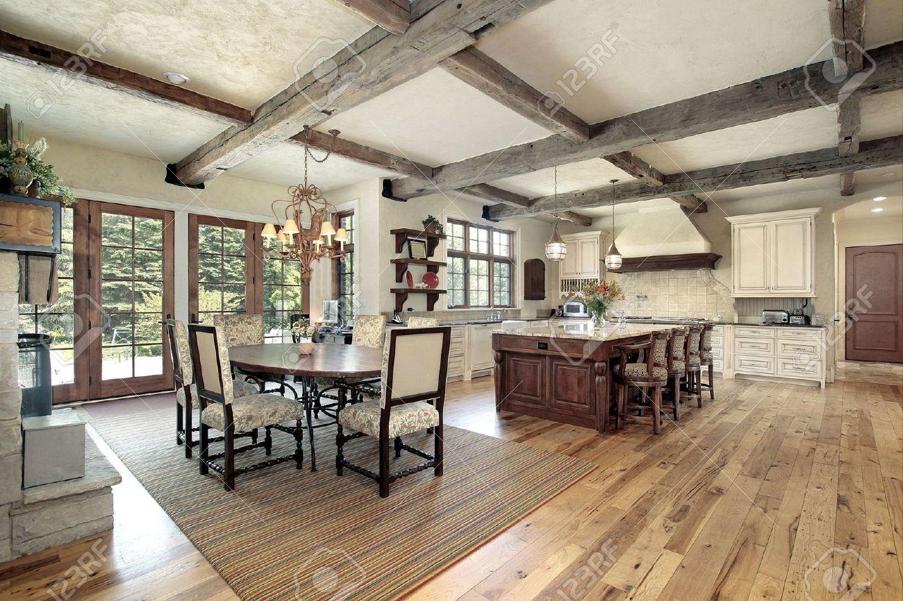 Soffitti Con Travi In Legno : Cucina travi legno travi a vista un valore aggiunto al soffitto