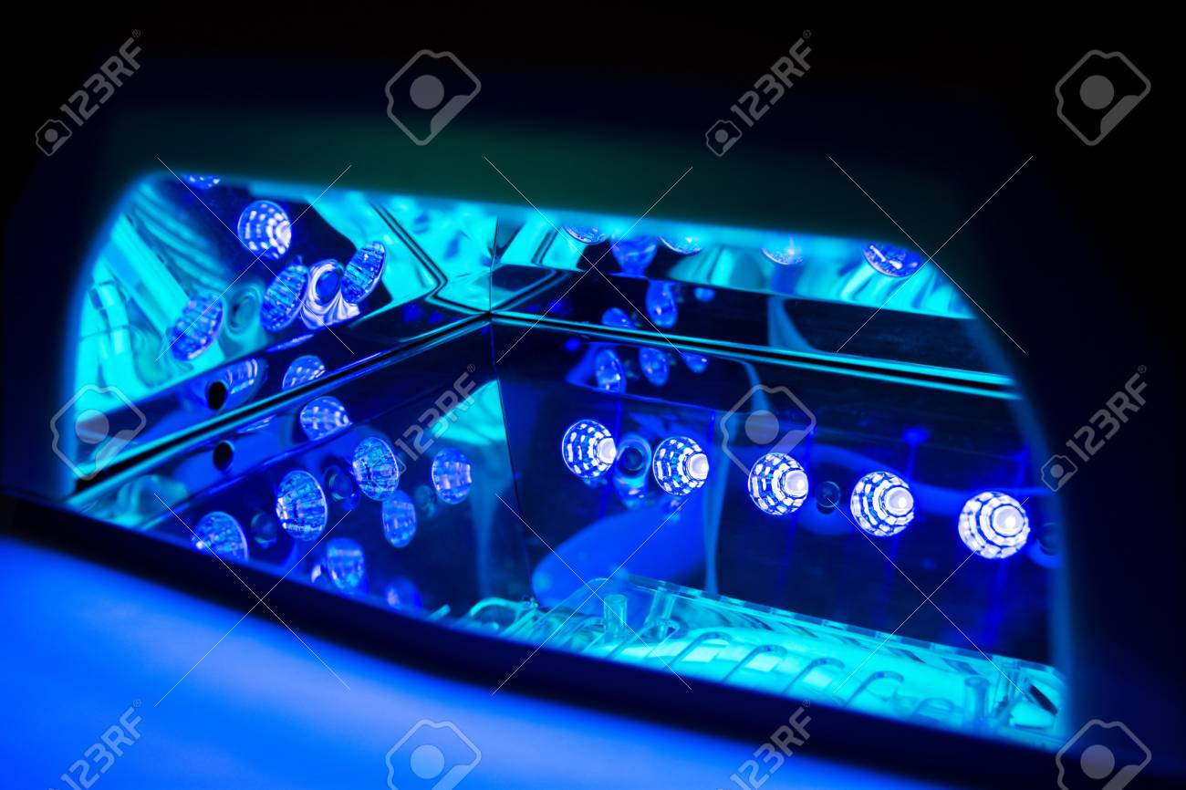 Ultraviolet Lamp Ultraviolet Lamp For Drying Nails Inside The Working Led Lamp