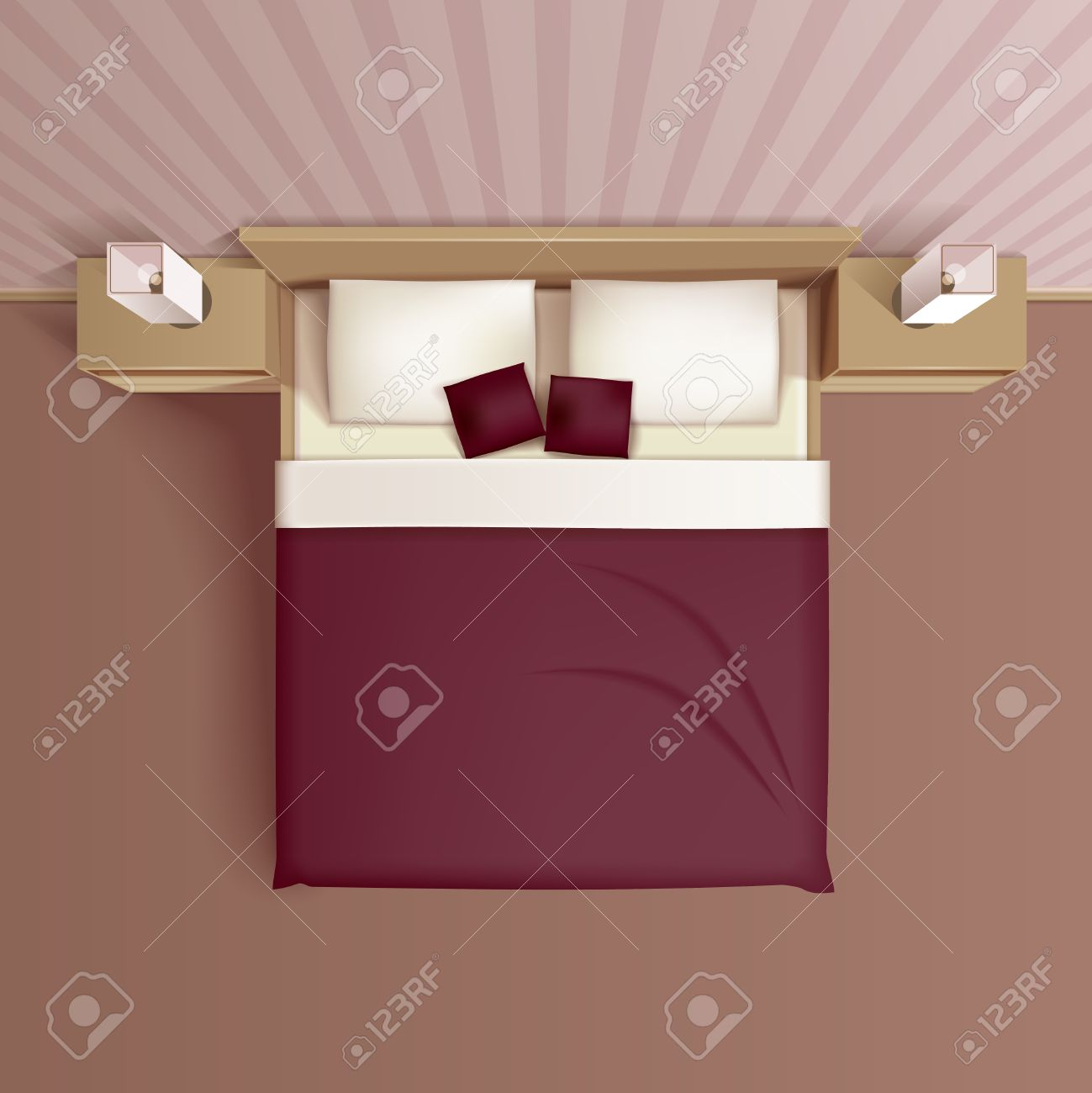 Bed Headboard Classic Family Bedroom Interior Design With Comfortable Bed Headboard