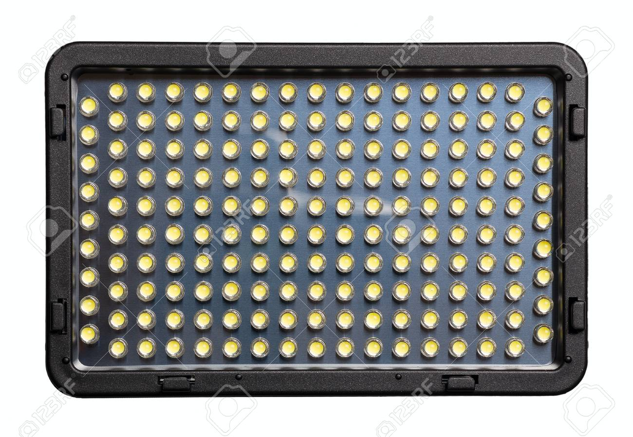 Eclairage Led Pour Video Led Lamp For Video Filming With A Set Of Small Leds Top View