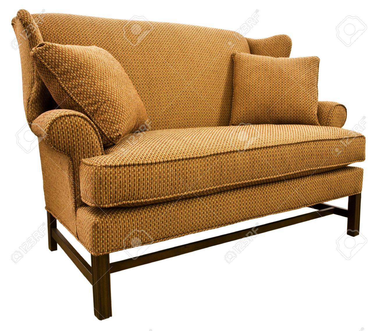 Settee Loveseat Chippendale Settee Loveseat With Cherry Wood Legs
