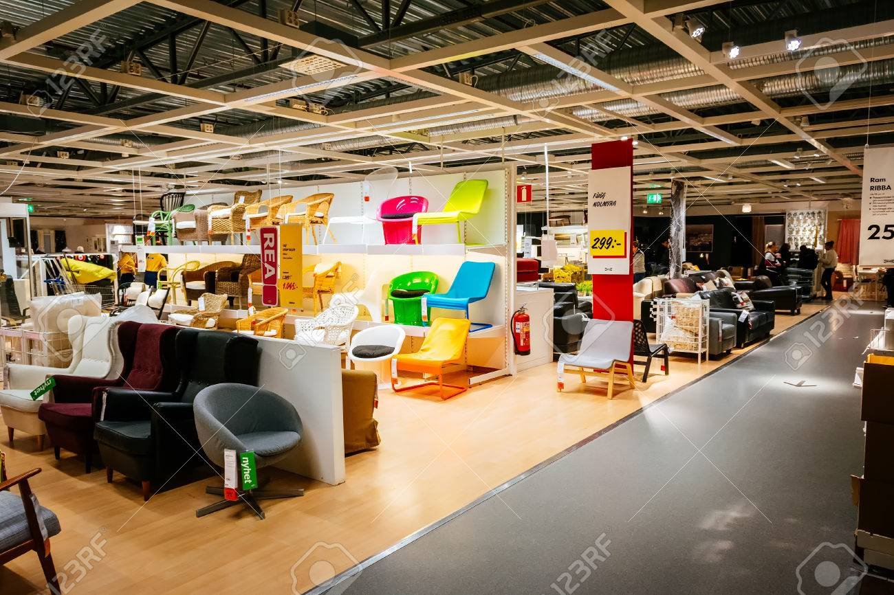 Interieur Ikea Malmo Sweden January 2 2015 Interior Of Large Ikea Store