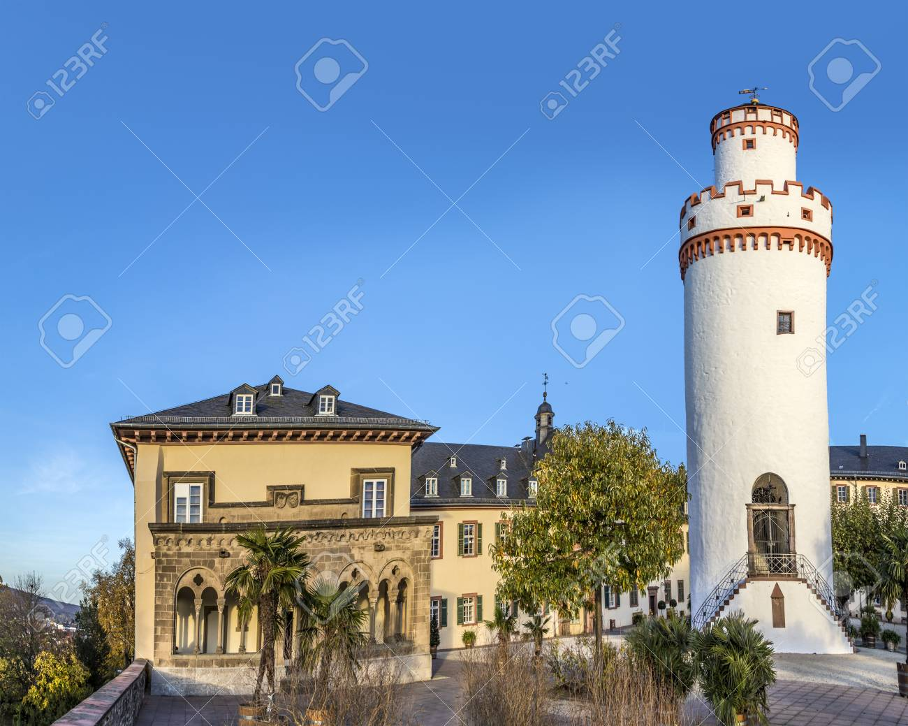 Bad Homburg Tower Of The Castle In Bad Homburg Germany