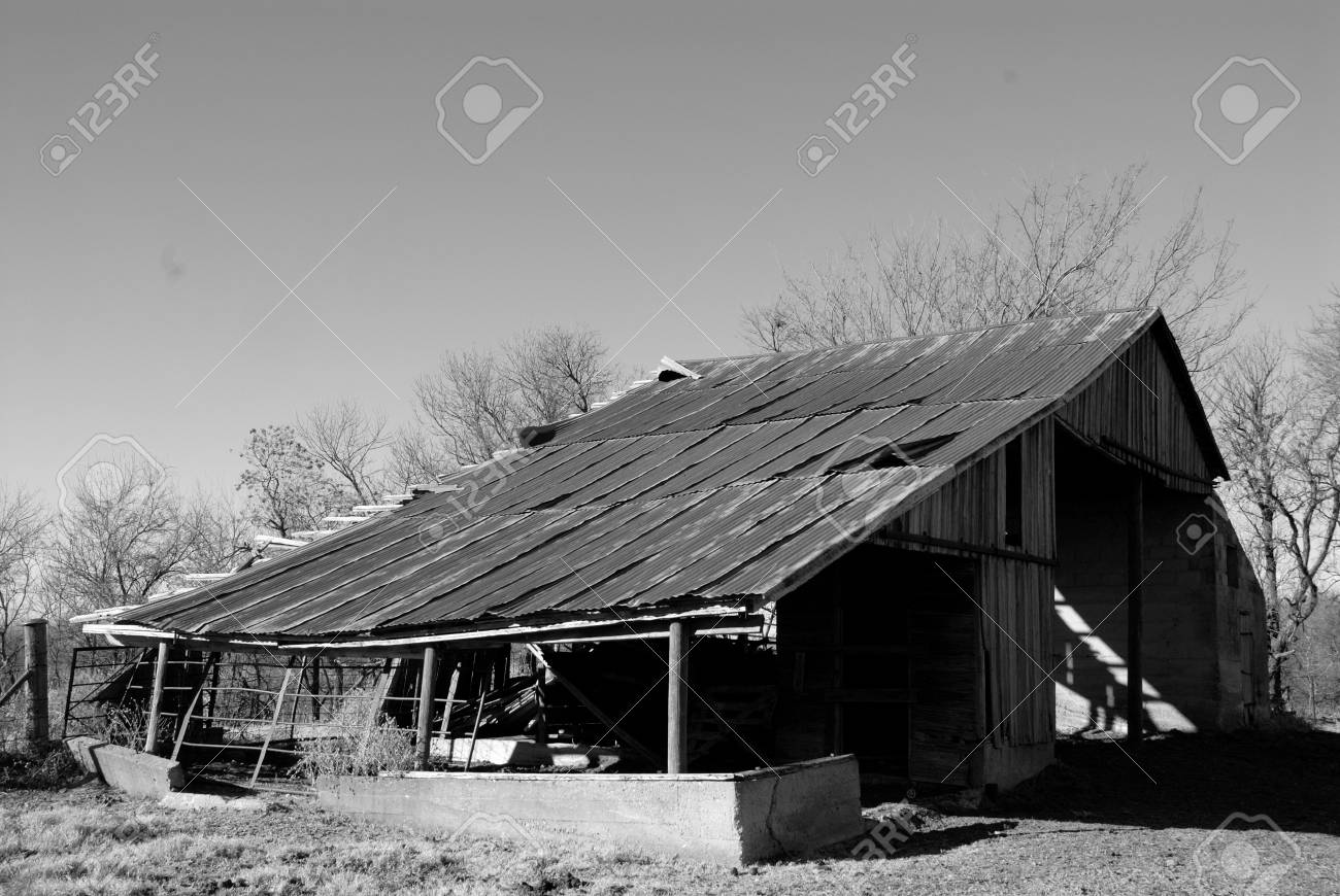 Old Barn In Black And White Stock Photo Picture And Royalty Free Image Image 2825875