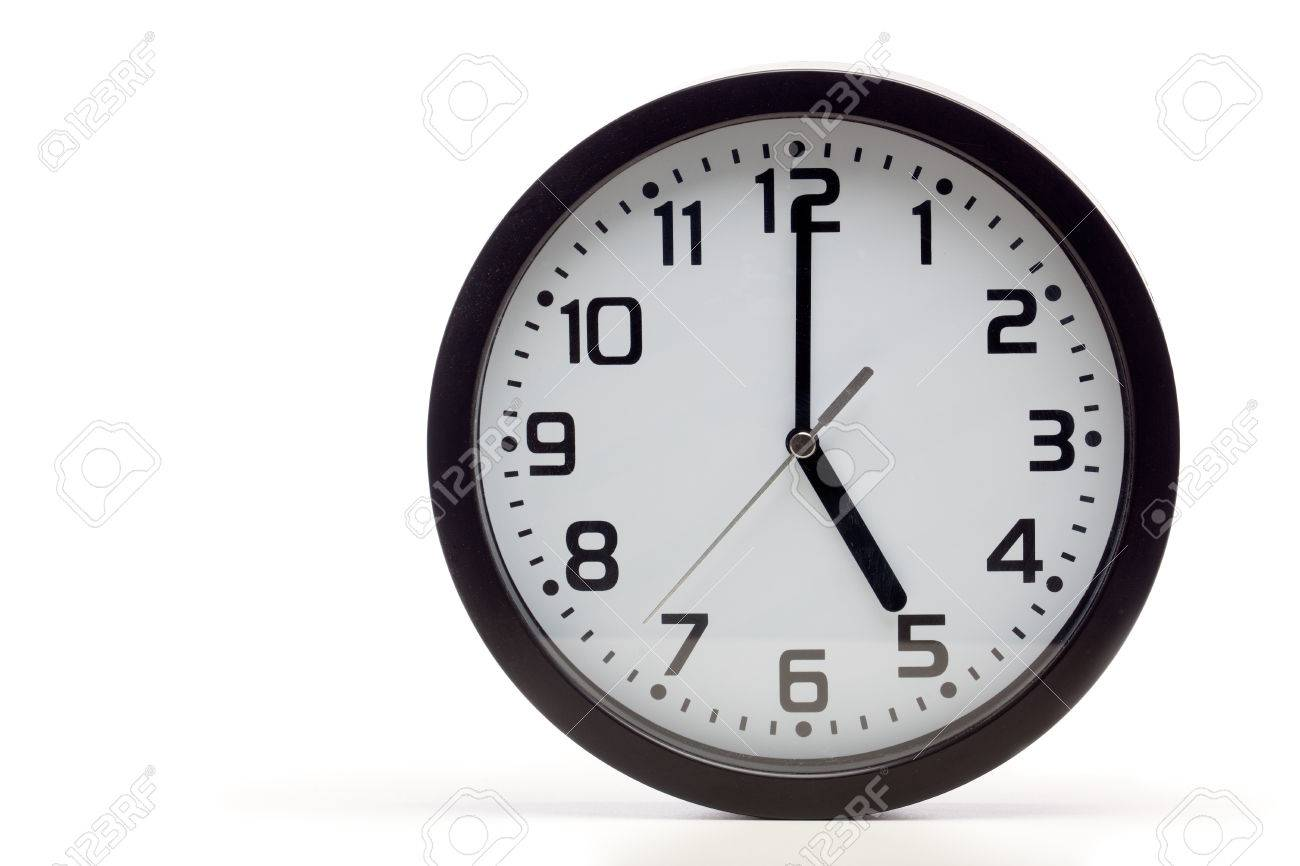 Analog Uhr Stock Photo