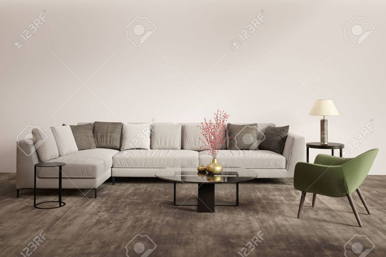 Moderne Couch Mit Sessel Graues Sofa Great Fototapete Graues Sofa Mit Bunten Kissen